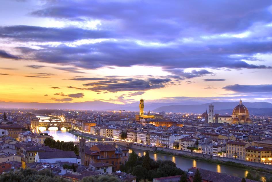 Florence et la région de la Toscane