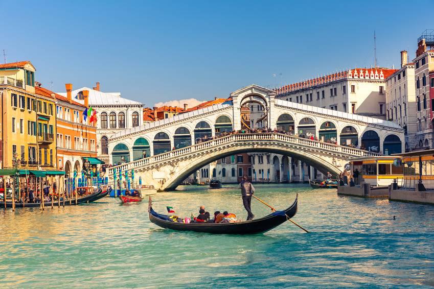 Lune de miel à Venise