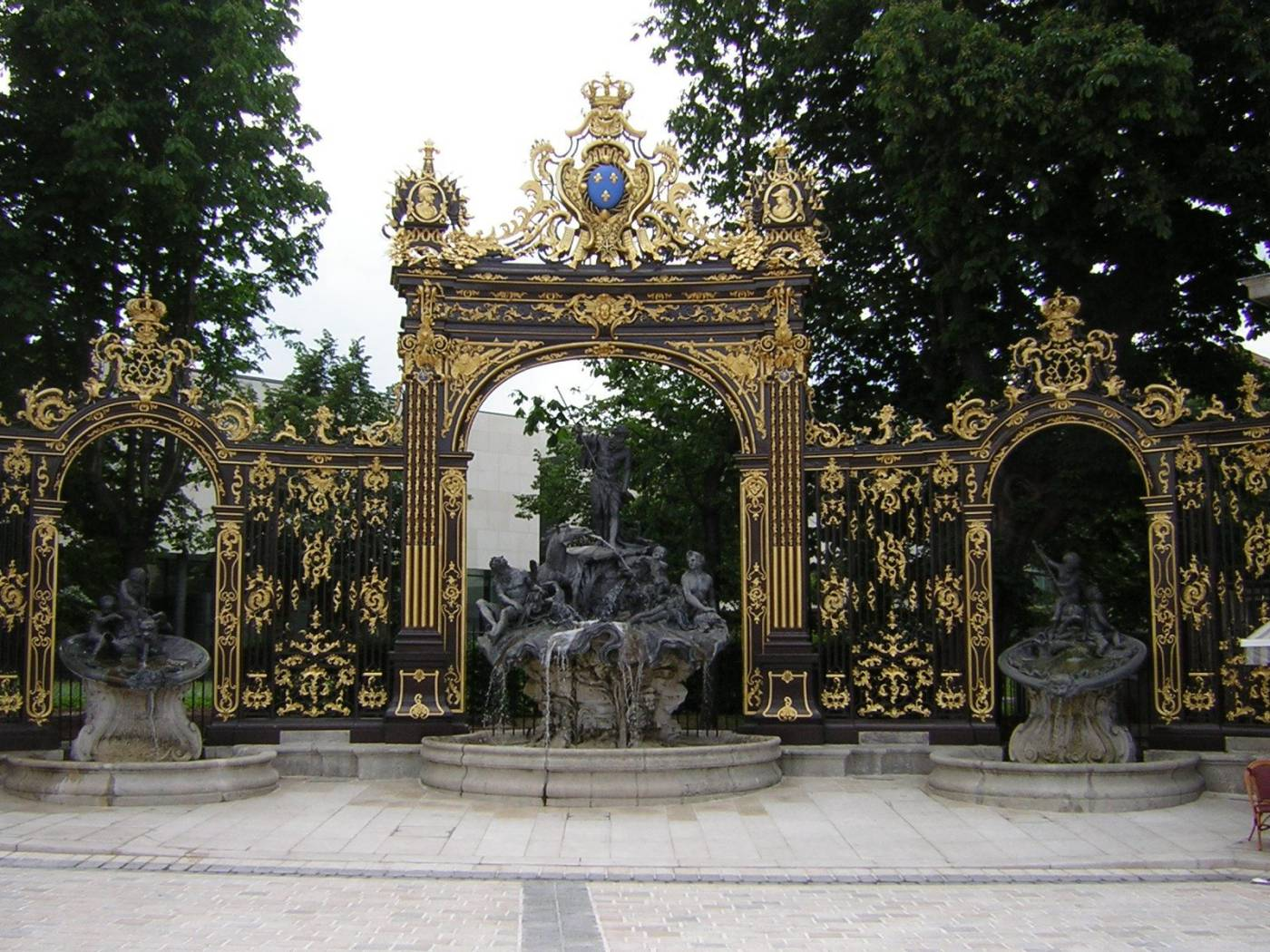 Nancy - Fontaine Neptune
