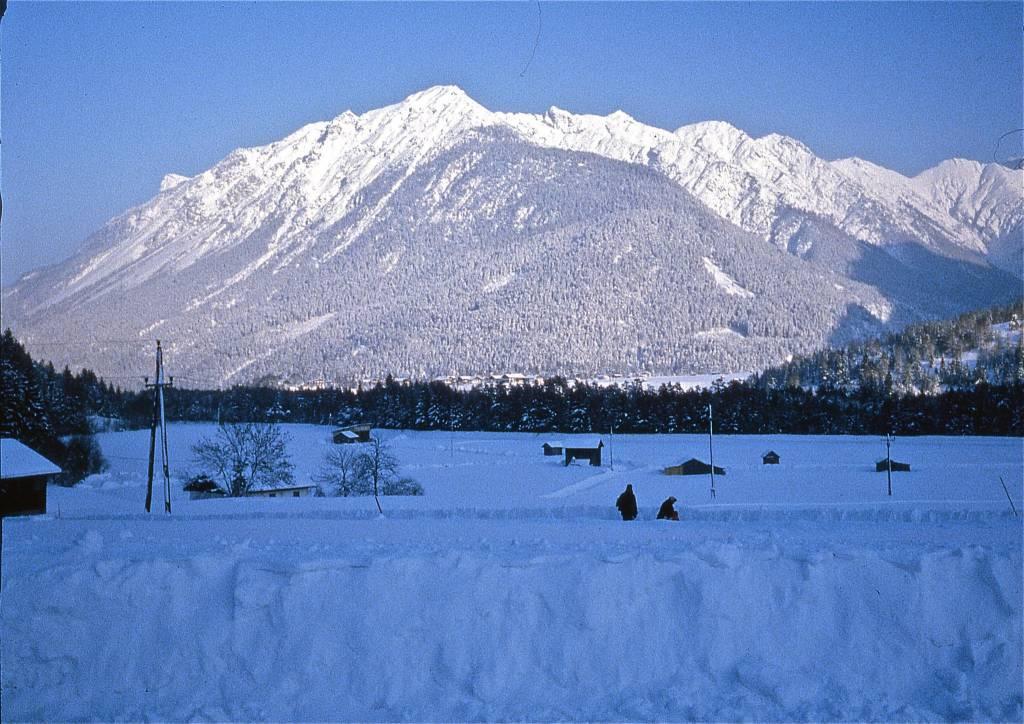 Montagne enneigé - Climat en Autriche