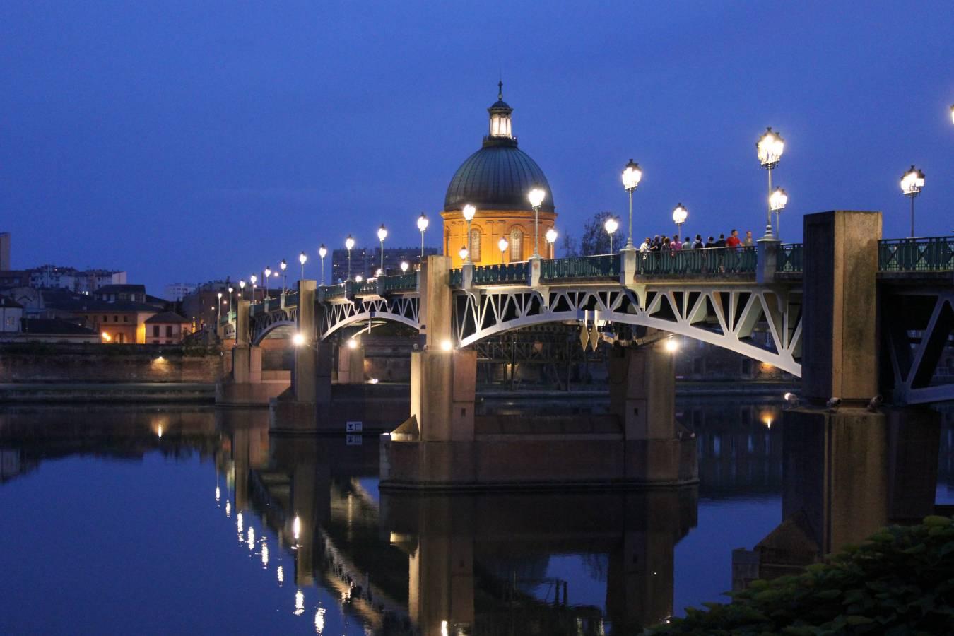 Visiter Toulouse et le Pont Saint-Pierre