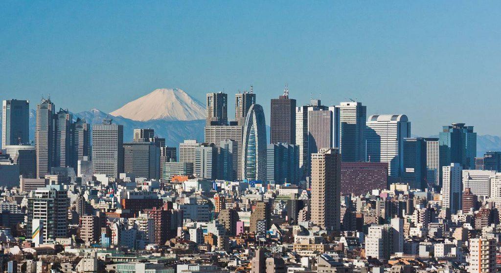 Tokyo, ville immense au Japon