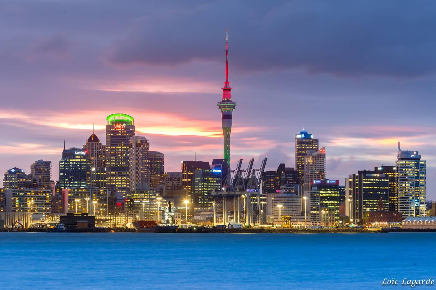 Quand aller à Auckland en Nouvelle-Zélande ?