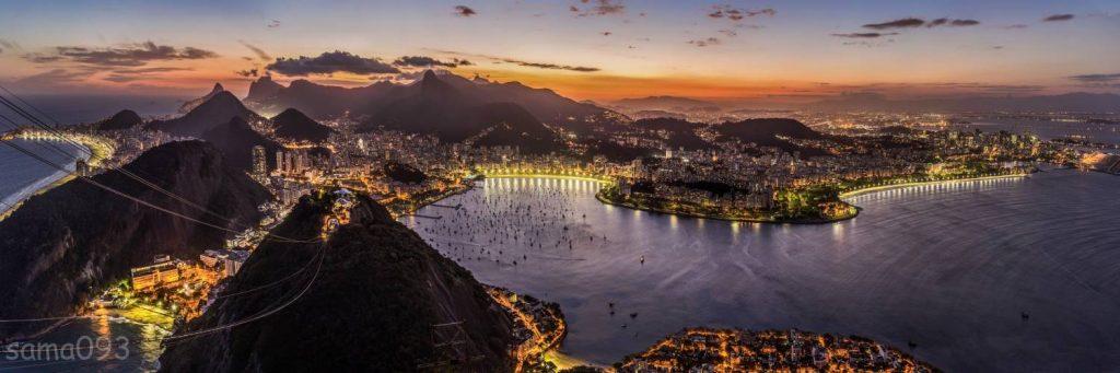 Rio de Janeiro au Brésil - Ville somptueuse