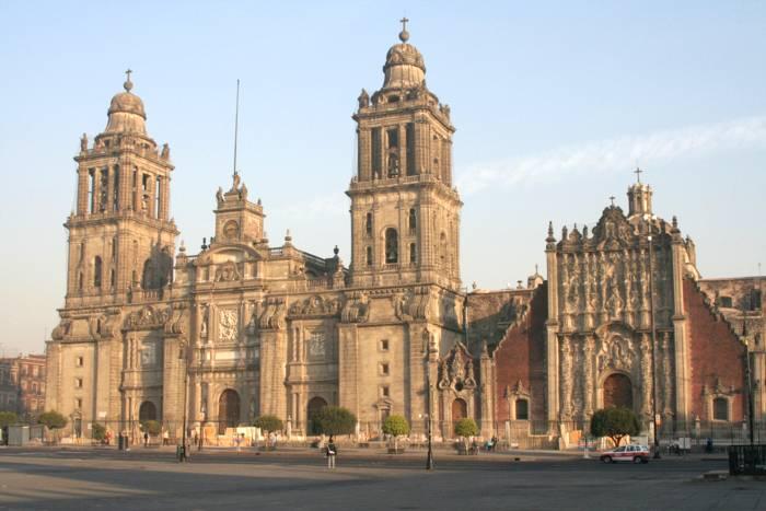 Tourisme en Amérique Centrale - Cathédrale de Mexico
