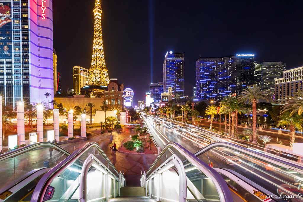 Tourisme en Amérique du Nord et Centrale - Strip de Las Vegas