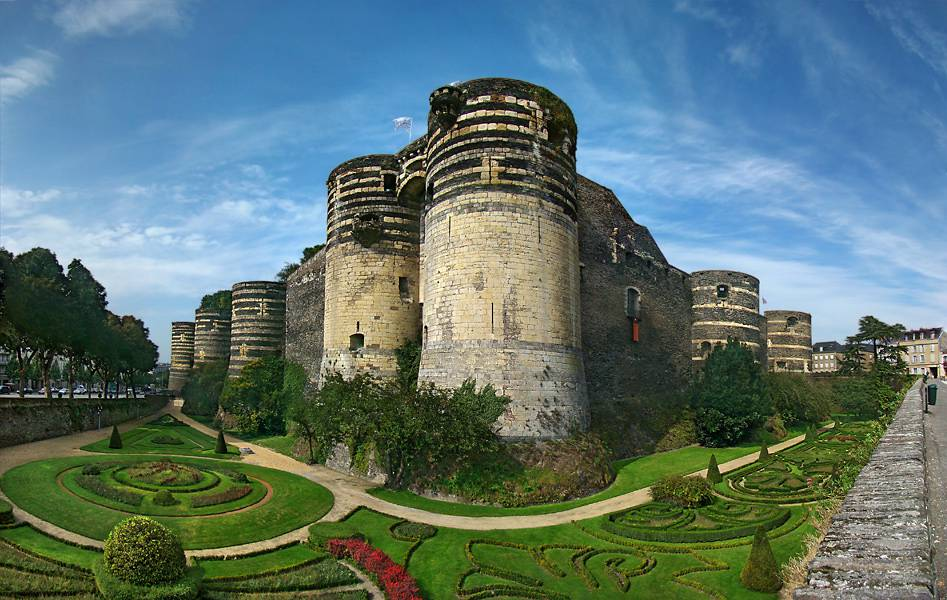 Visiter Angers - Le chateau d'Angers