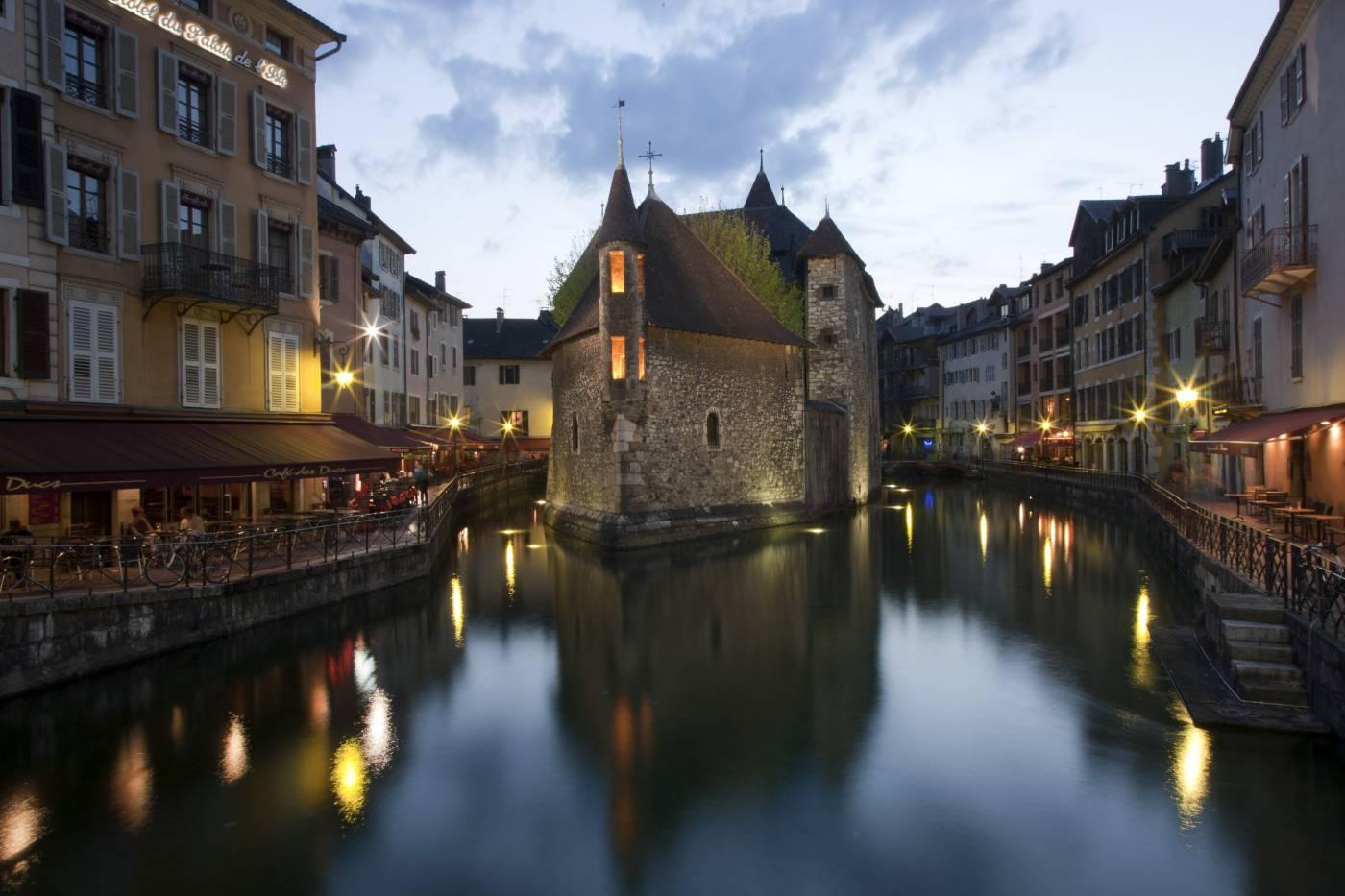 Visiter Annecy - Palais de l'Isle