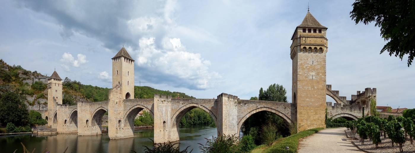 Visiter Cahors - Le pont Valentré