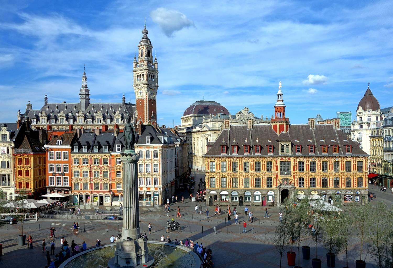 Visiter Lille et sa grande place