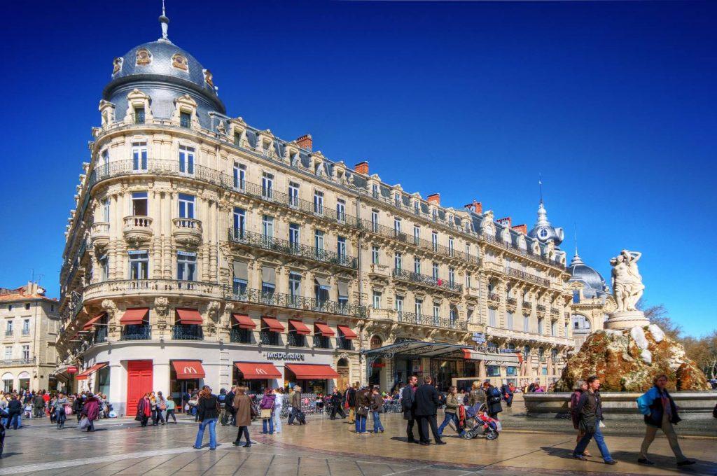 Visiter Montpellier - Place de la Comédie