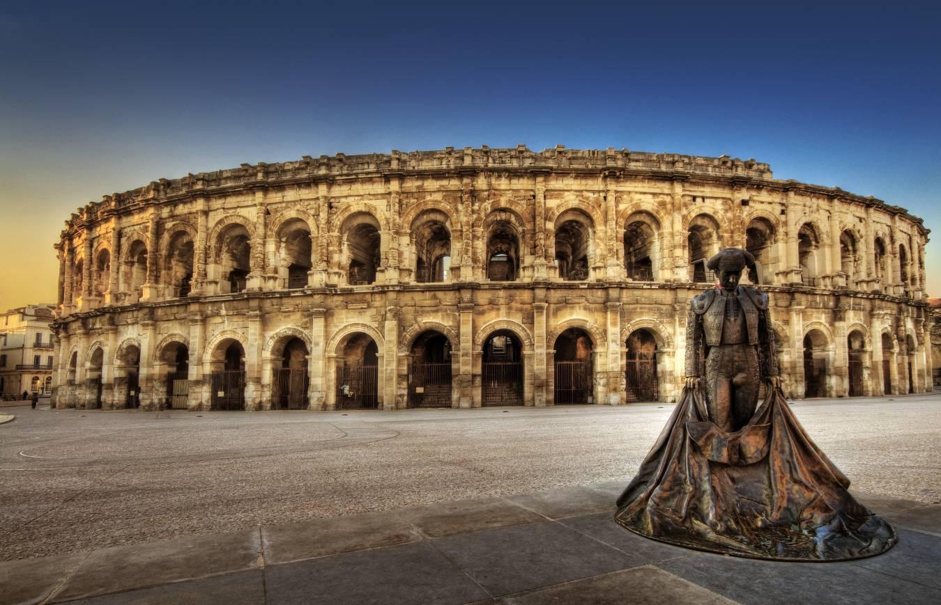 Visiter Nîmes - Les arènes