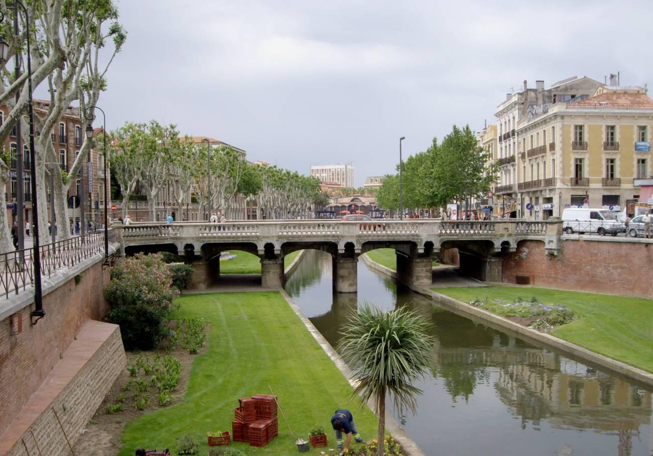 Visiter Perpignan - Quai de la Basse