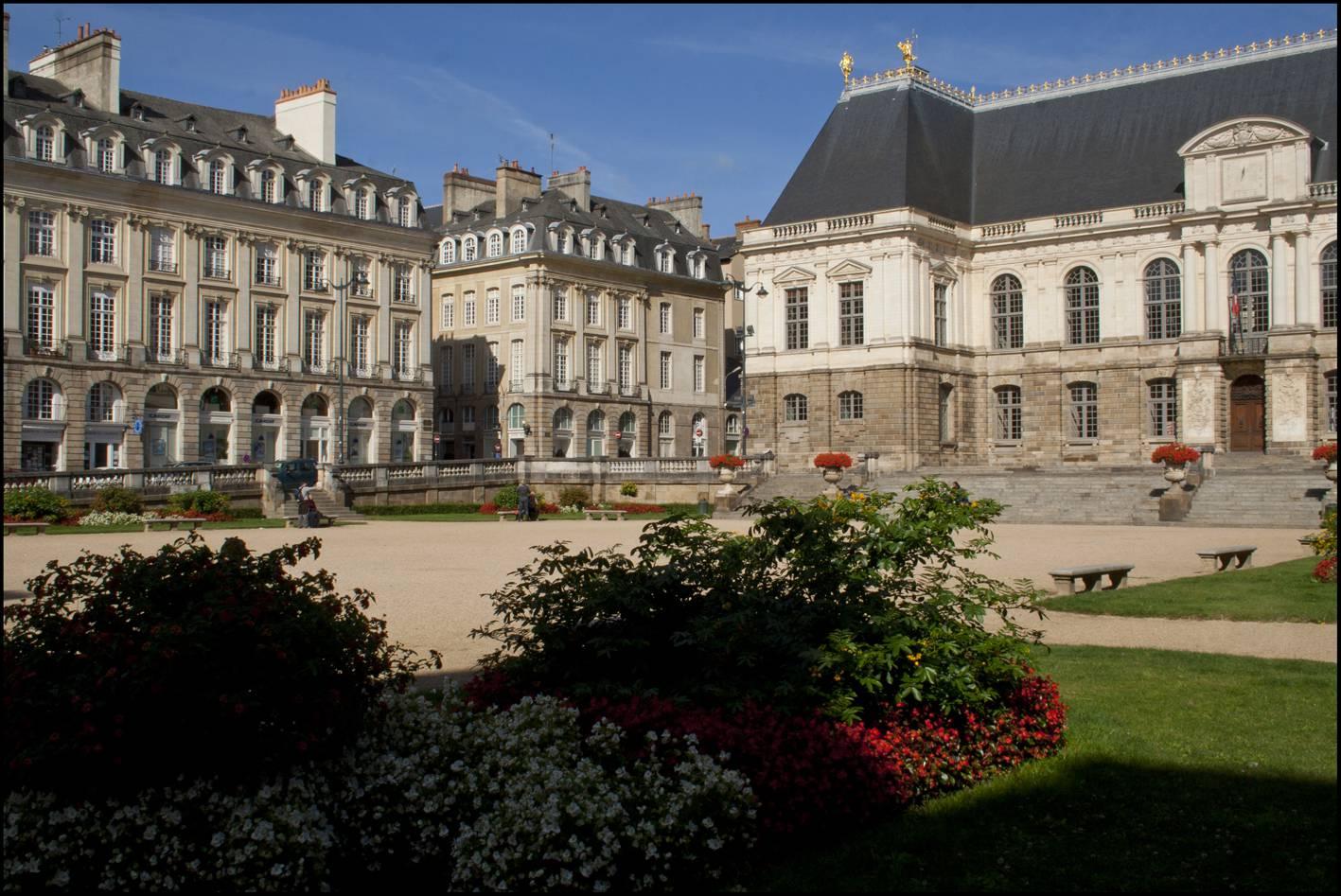 Visiter Rennes - Parlement de Bretagne
