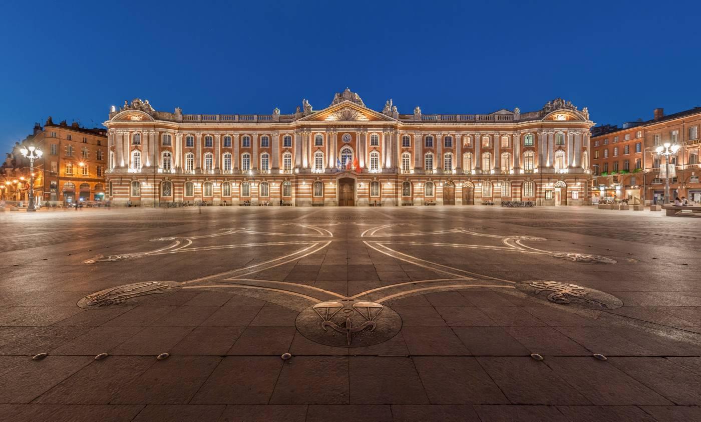 Visiter Toulouse - Le Capitole