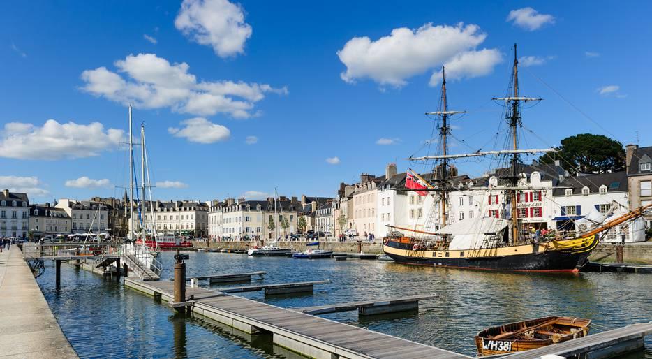 Visiter Vannes - Port de Vannes