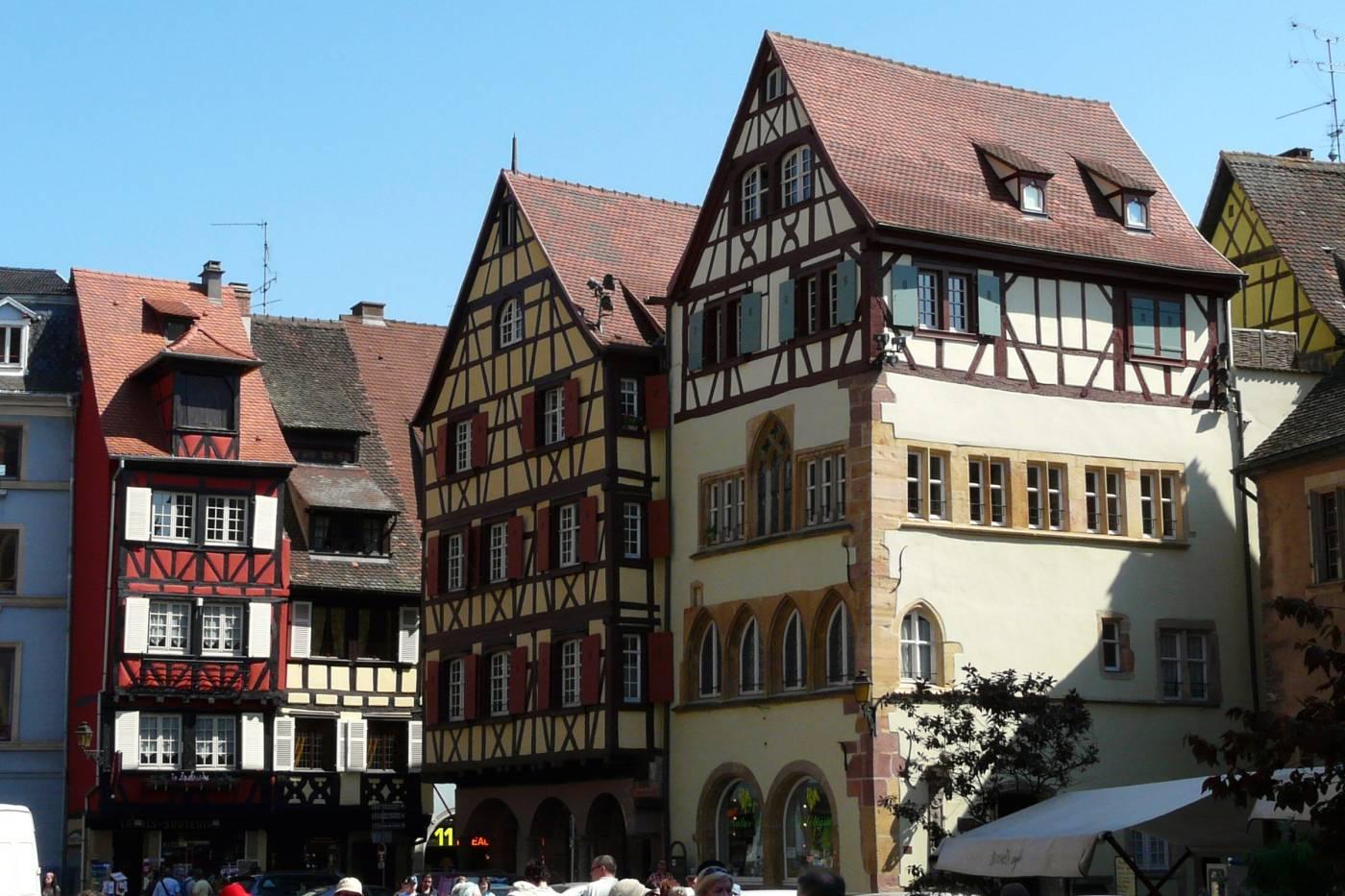 Colmar - Maisons Alsaciennes