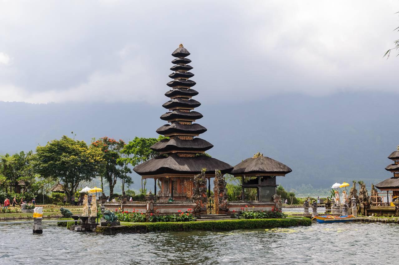 Lune de miel à Bali en Asie