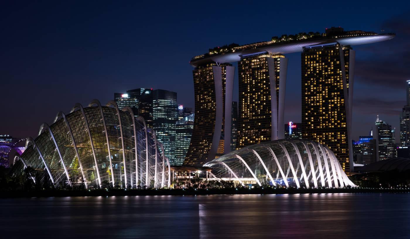 Lune de miel à Singapour