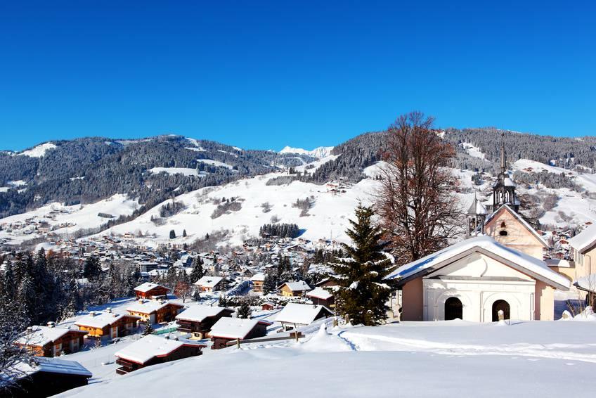 Megève dans les meilleures stations de ski familiales en France
