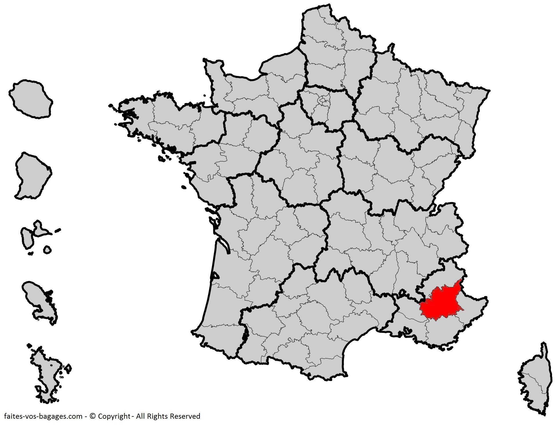 Où se trouve les Alpes-de-Haute-Provence ? Département 04