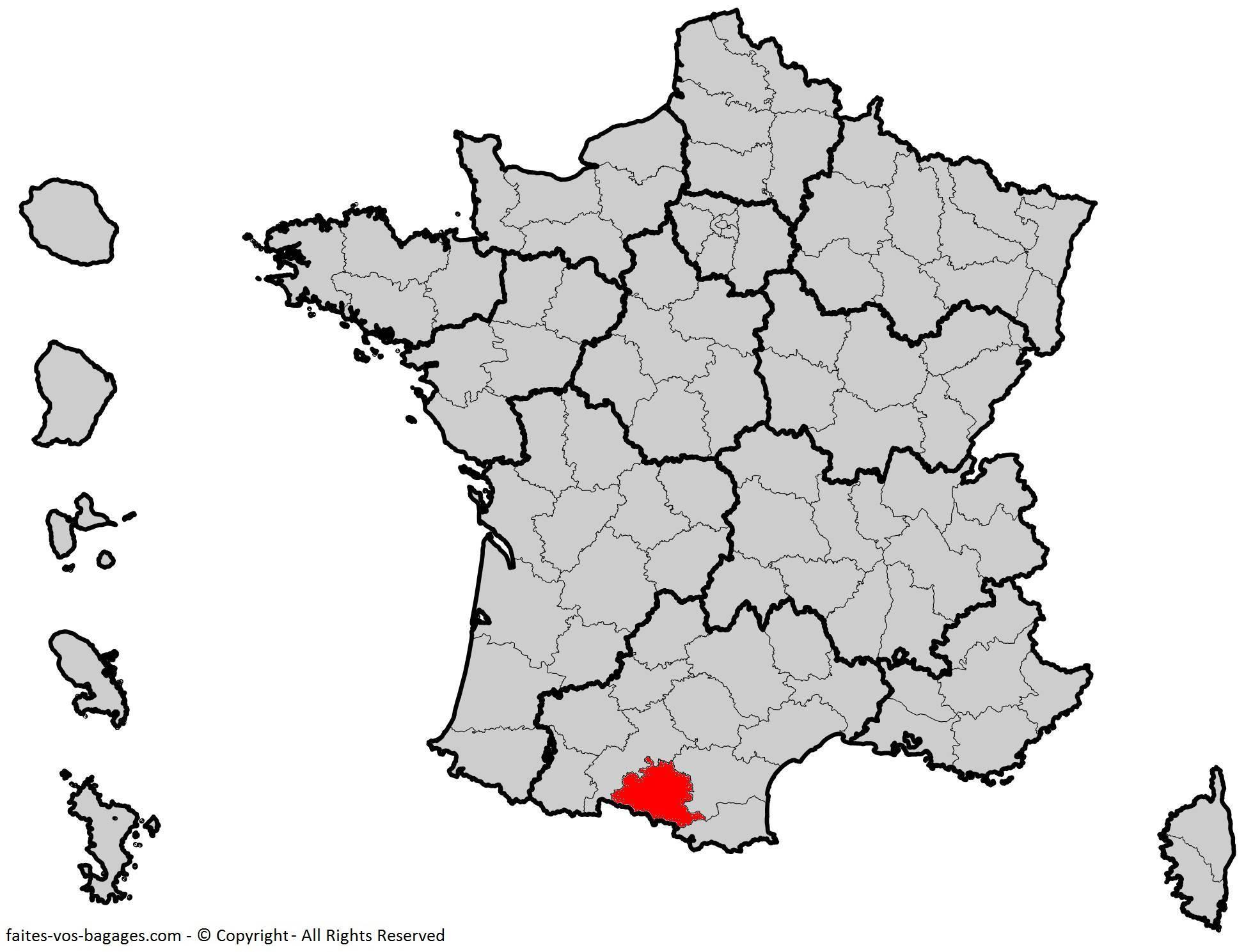 Où se trouve l'Ariège en France ? Département 09