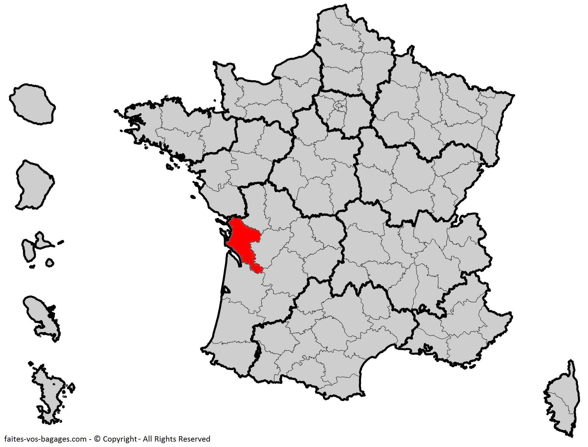 Où se trouve la Charente-Maritime ? Département 17