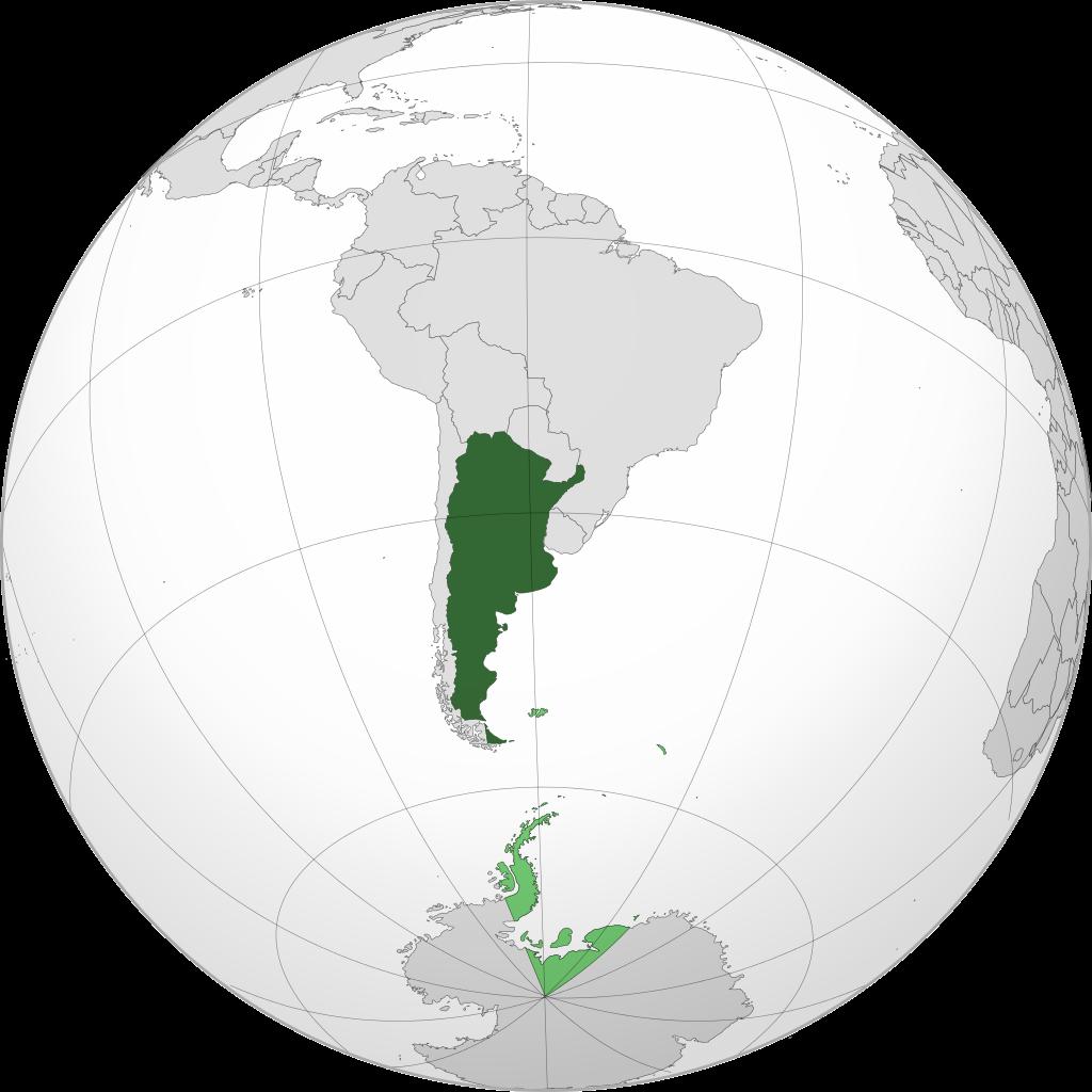 Où se trouve l'Argentine dans le monde
