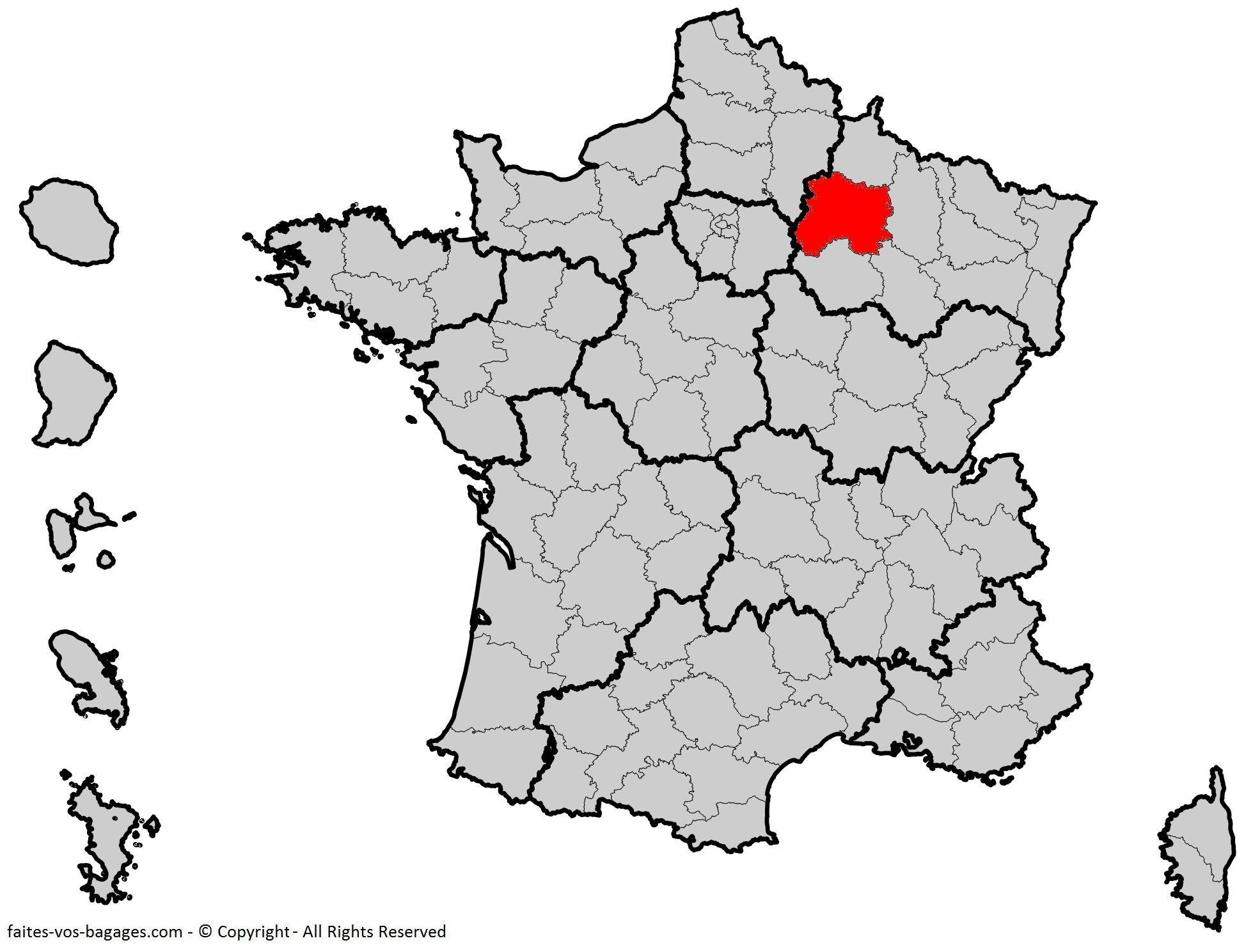 Où se trouve la Marne en France ? Département 51