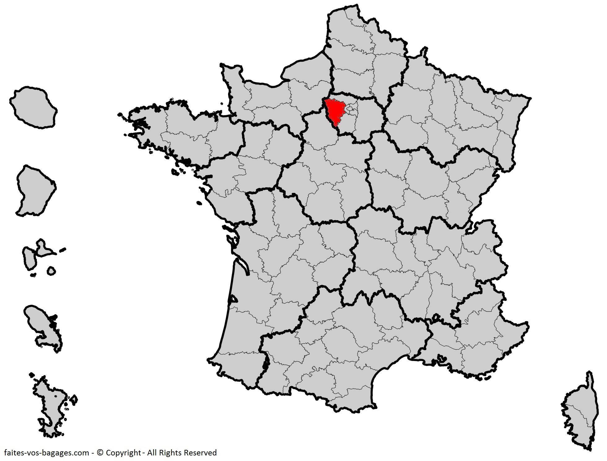 Où se trouve les Yvelines ? Département 78
