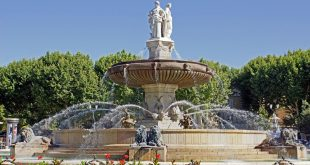 Visiter Aix-en-Provence - Fontaine de la Rotonde