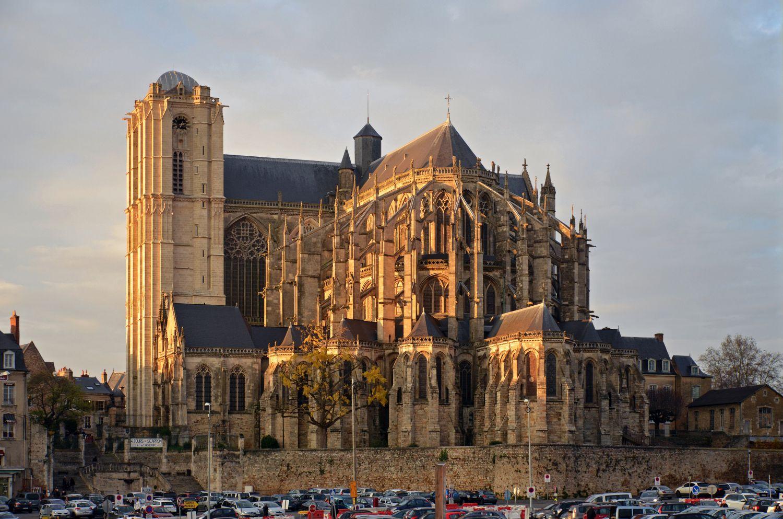 Visiter Le Mans - Cathédrale Saint-Julien