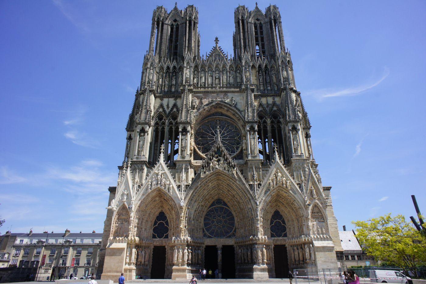Visiter Reims - Cathédrale Notre-Dame de Reims