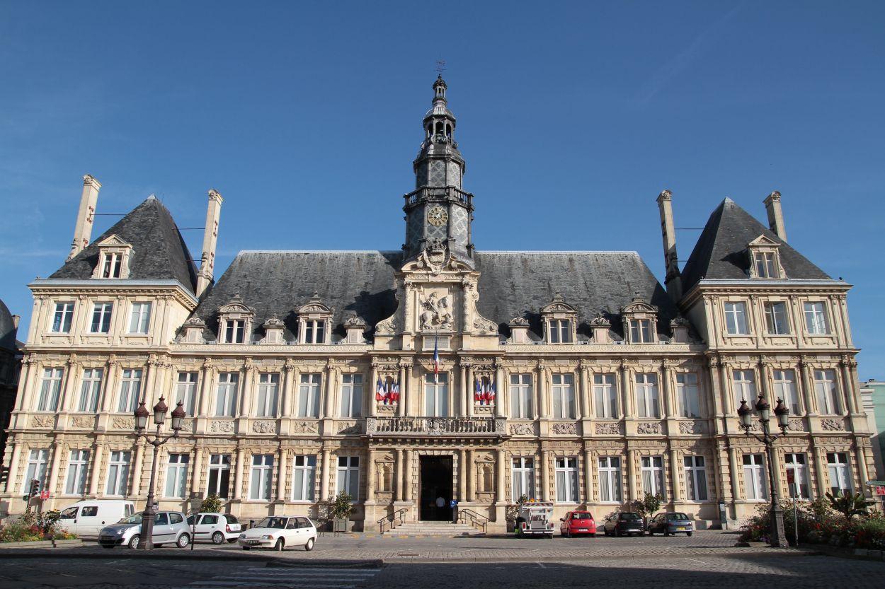 Visiter Reims - Hôtel de ville
