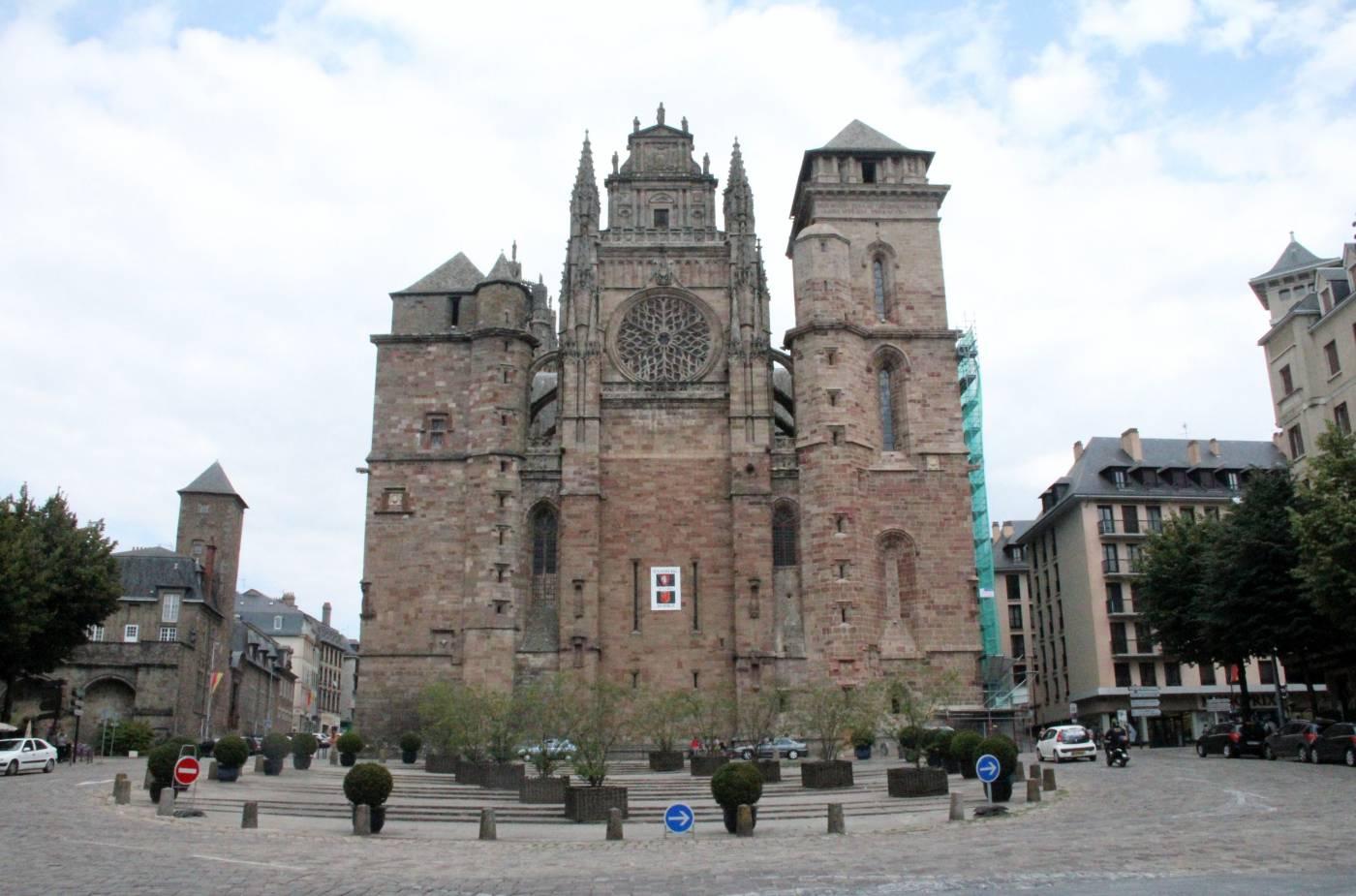 Visiter Rodez - Cathédrale Notre-Dame