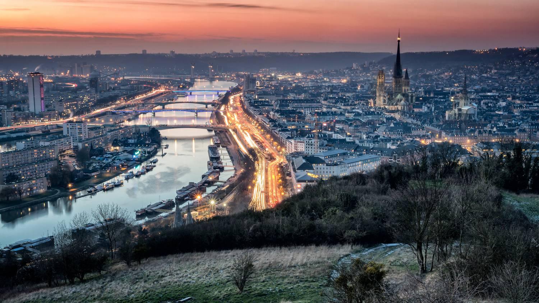 Visiter Rouen - Vue aérienne