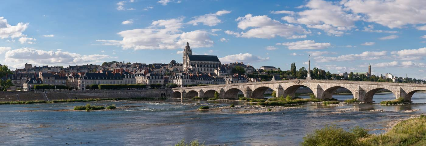 Visiter Blois - Vue panoramique