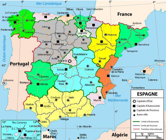 provinces of portugal map with Carte De L Espagne on Provinces Du Portugal Carte together with Globe Africa in addition Annecy Carte besides Espana Mapa Politico moreover Palma Carte.