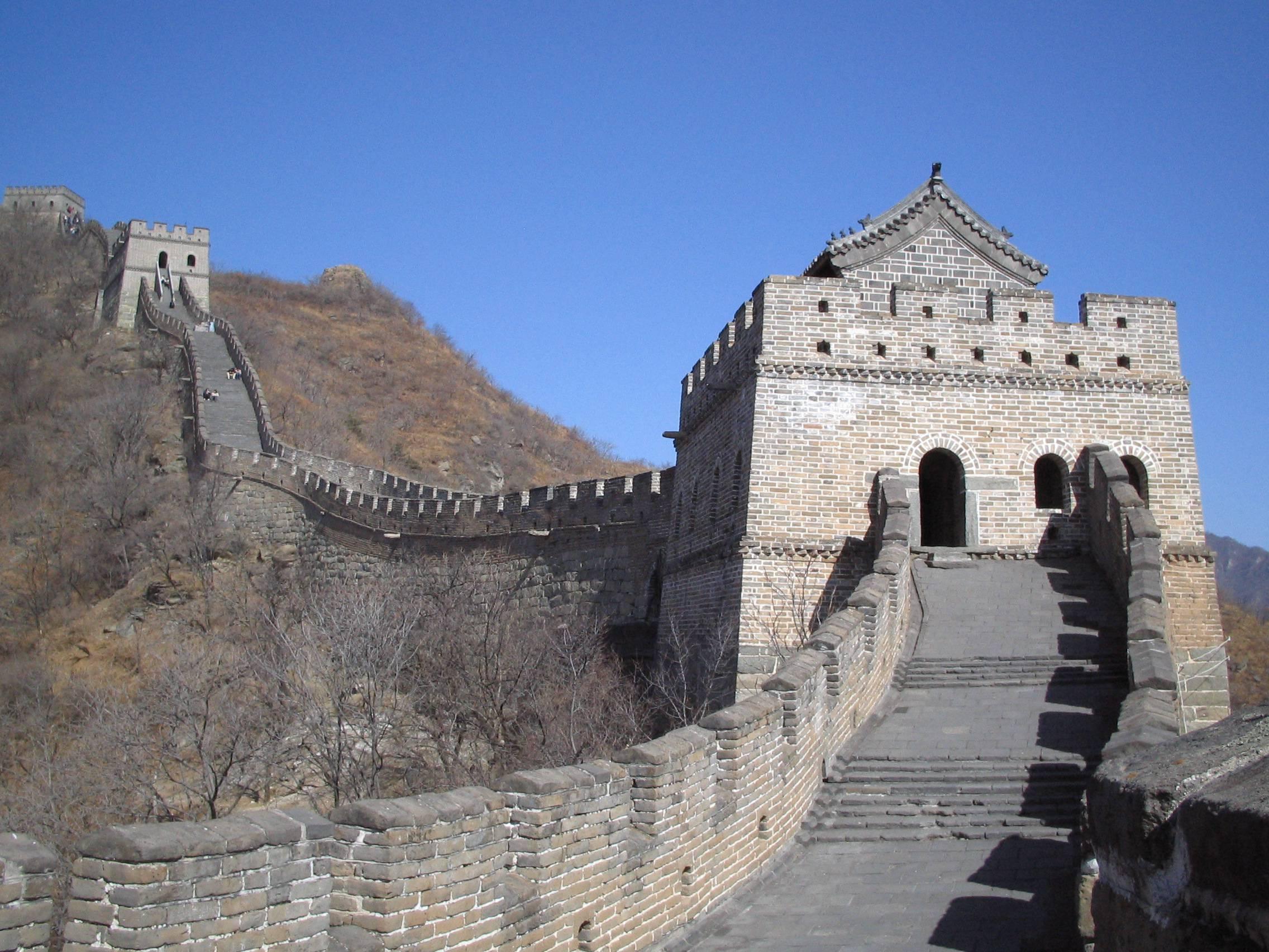 Chemin de ronde sur la Grande Muraille