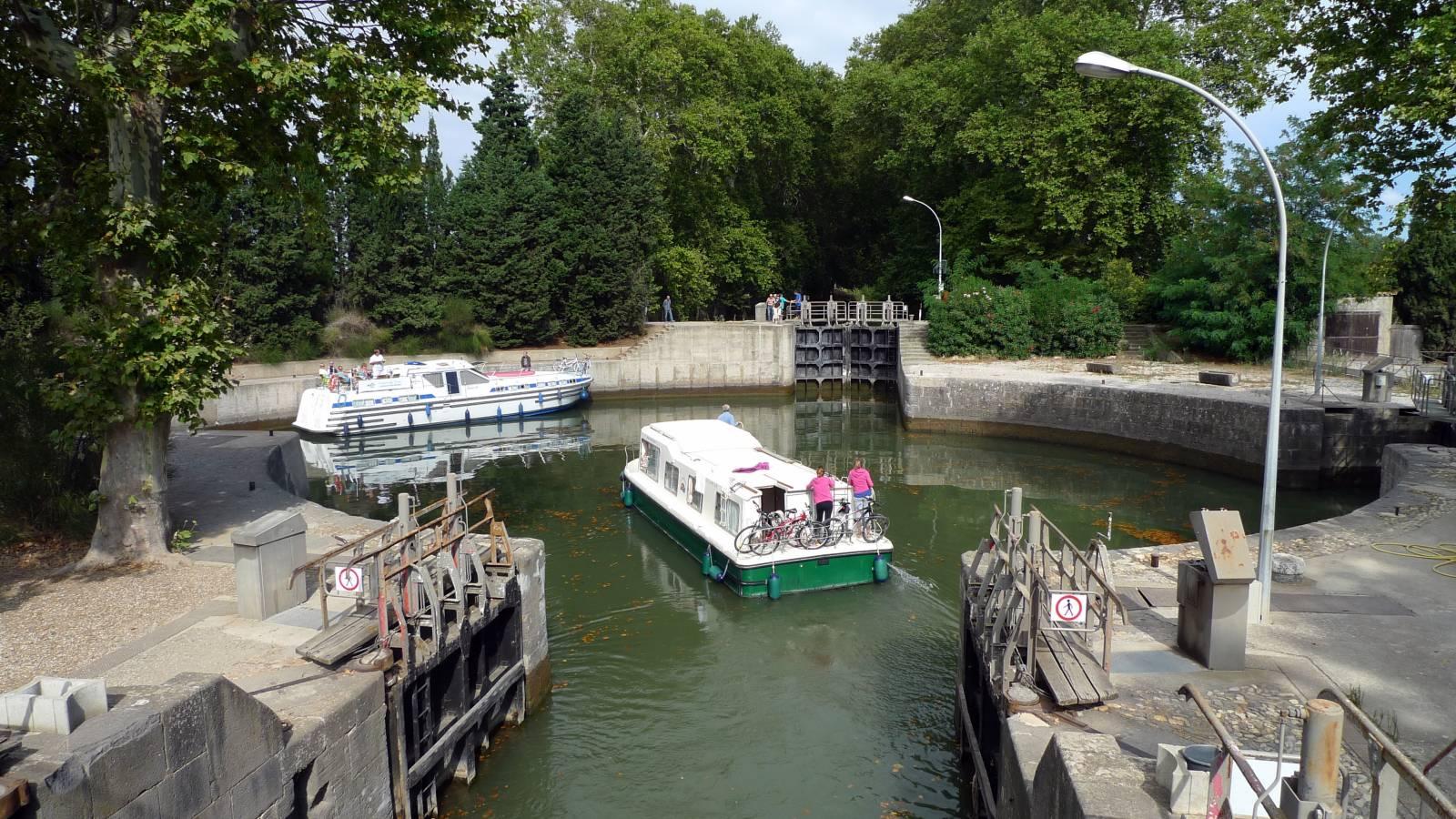 Ecluses sur le canal du Midi