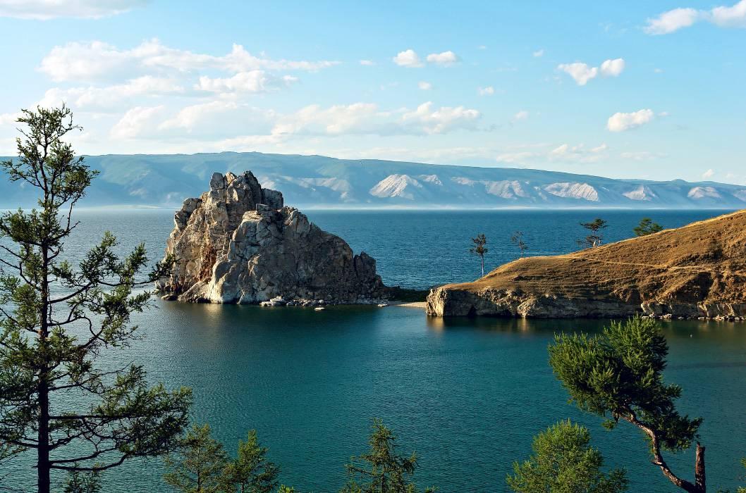 Lac Baïkal - Sur le Transsibérien