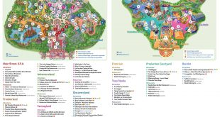 Plan de Disneyland Paris