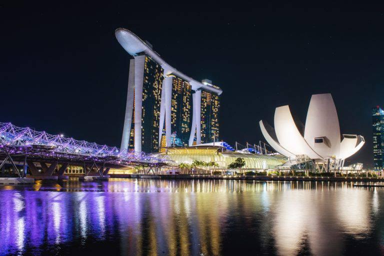 Singapour en Asie