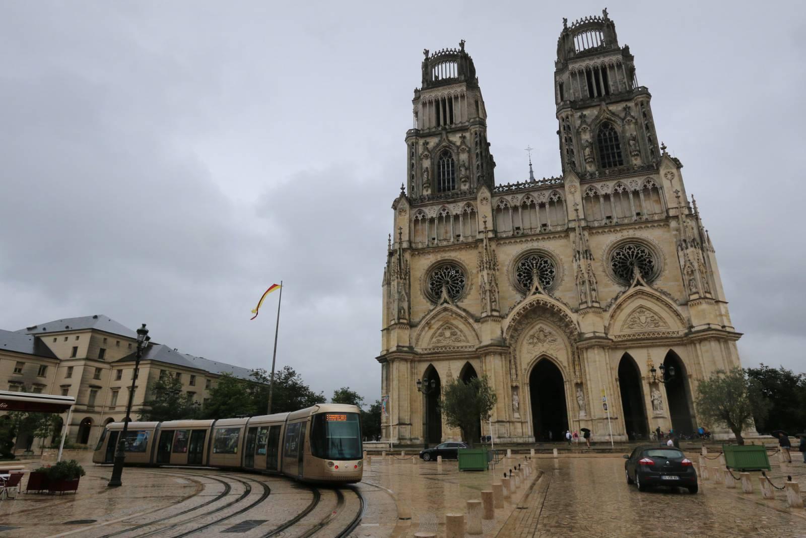 Visiter Orléans - Cathédrale Sainte-Croix