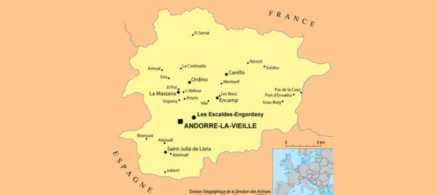 Andorre carte