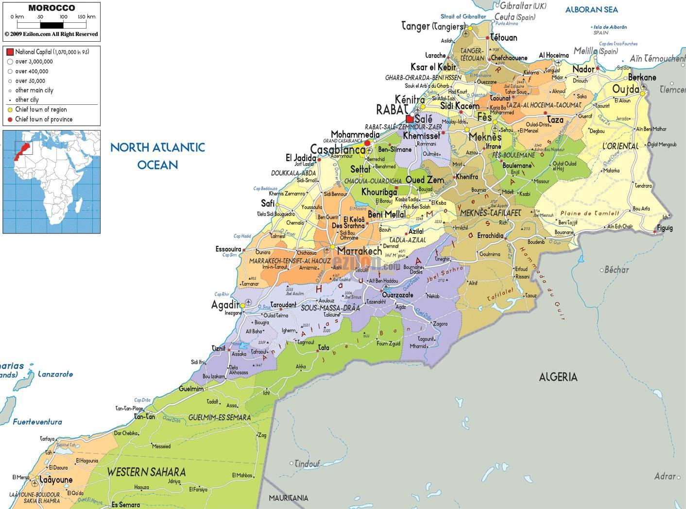 carte-du-maroc-images