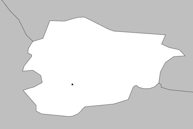 Carte vierge de l'Andorre