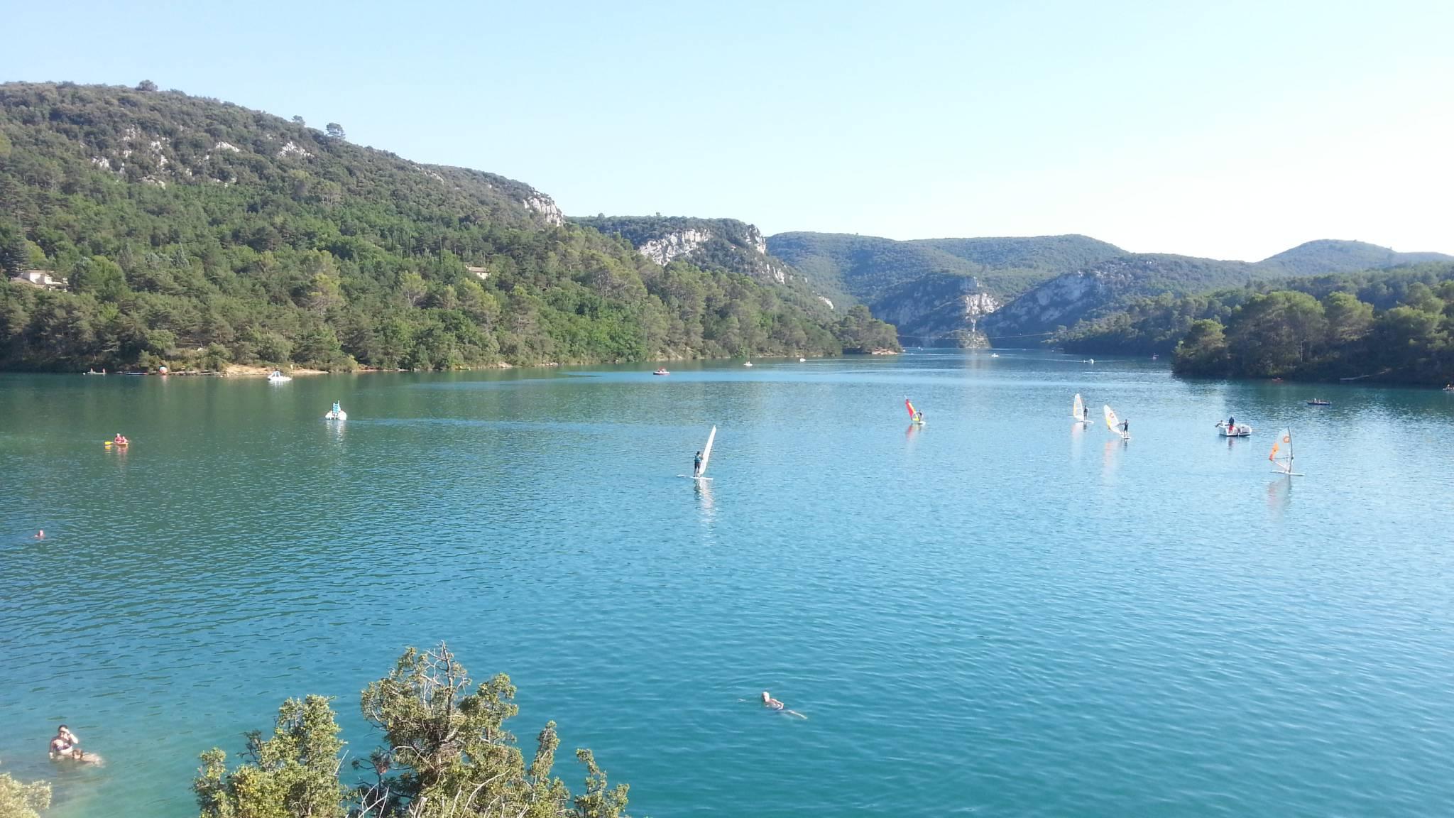 Lac Esparron - Paysage