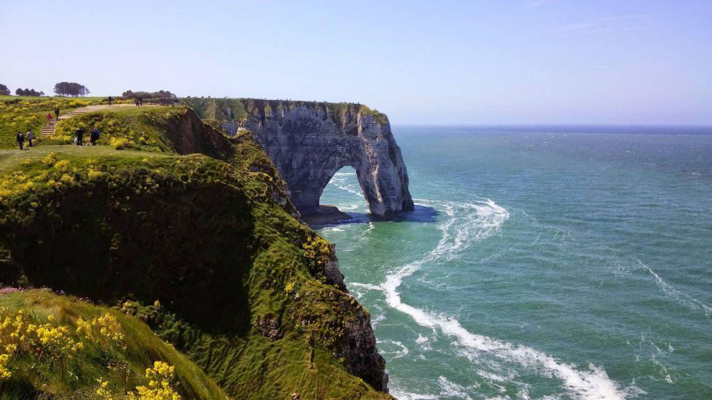 Les falaises d'Etretat - Dans les plus beaux paysages de France
