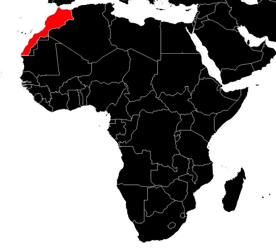 Carte du Maroc - Carte routière, des villes , des régions ...